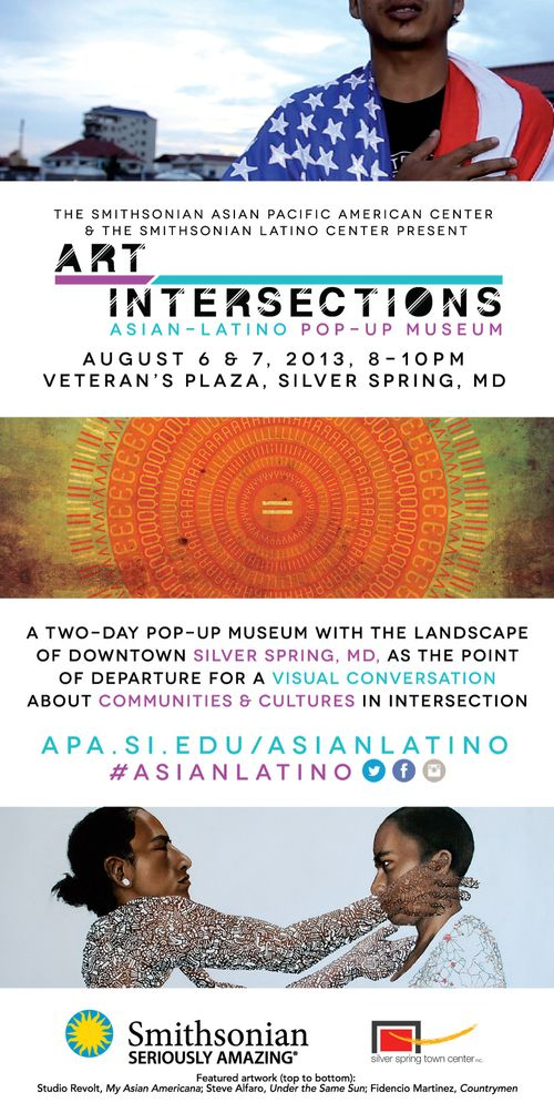Art intersections flyer