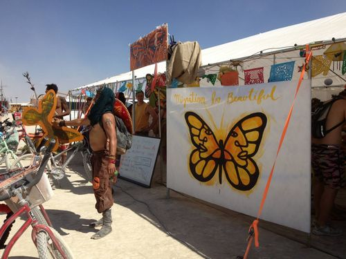 Favinna Rodriguez Burning man 2013